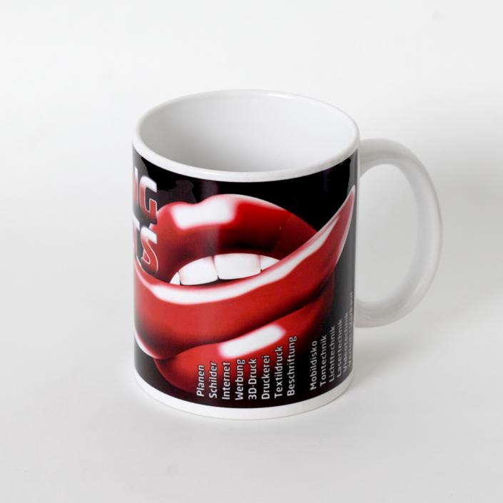 Tassen bedrucken