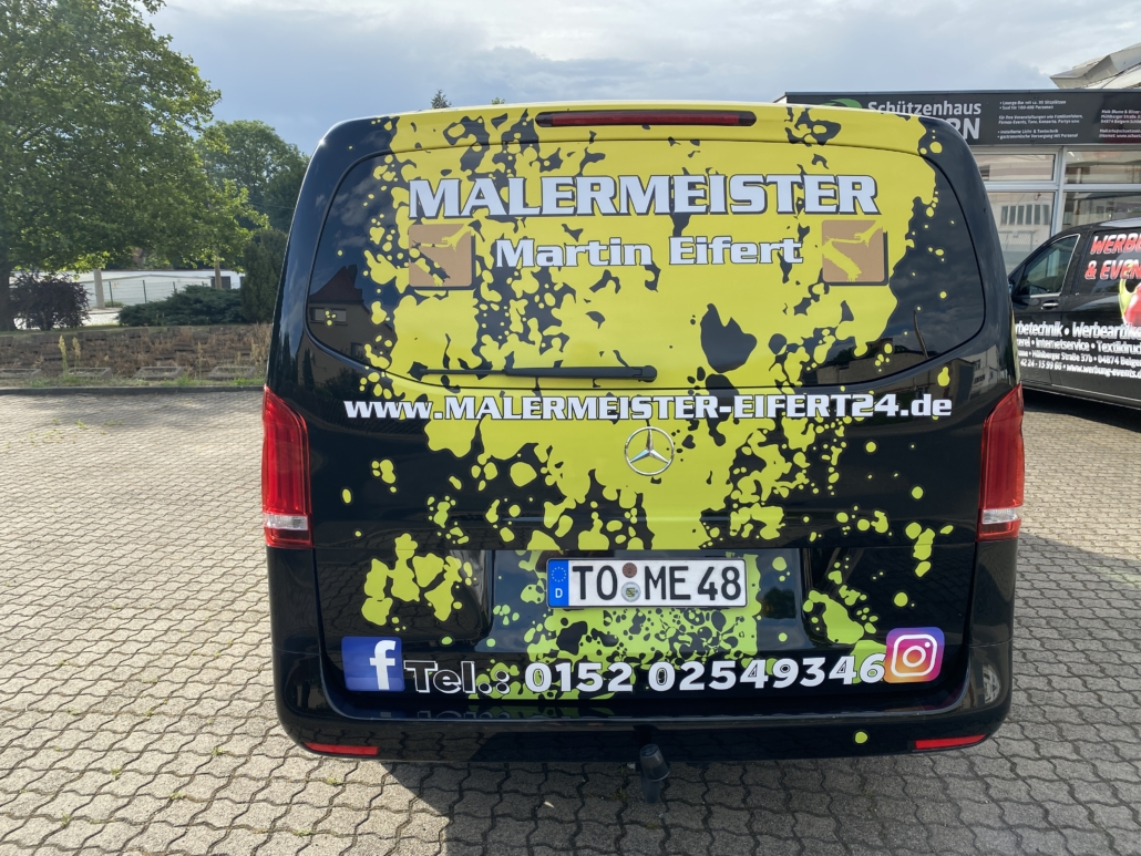 Kfz-Beschriftung Malermeister Eifert