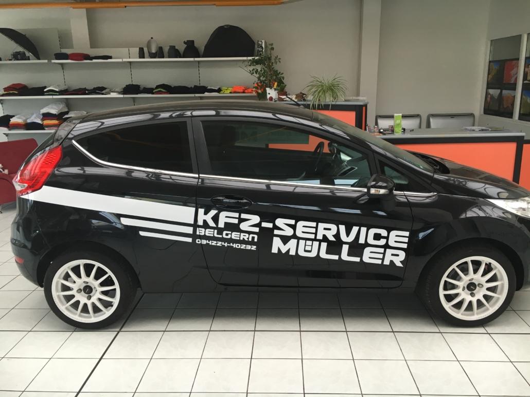 Kfz-Beschriftung Kfz-Service Müller Belgern von Werbung&Events Maik Blume Belgern