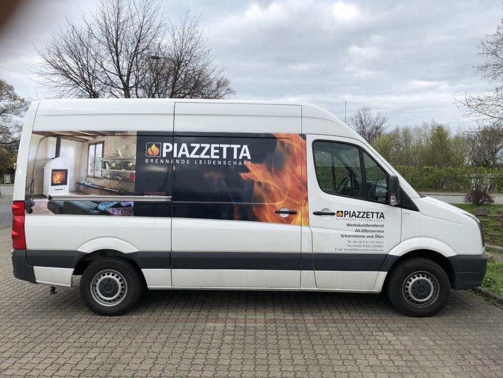 Transporter Beschriftung Piazzetta