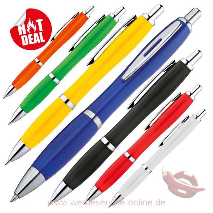 Kunststoffkugelschreiber